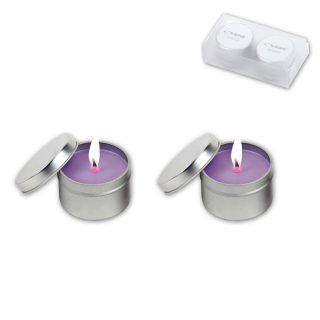 סנדאי-זוג נרותריחנייםבקופסתמפח