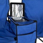 סט מתקפל של זוג כיסאות חוף וצידנית - קאפל
