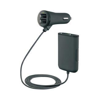 לקסוס - מטען USB לרכב, שתי יצאות בחיבור למצת