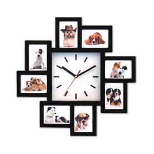 בזל - שעון קיר עם מסגרות לתמונות